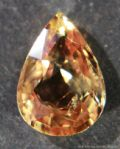 Orange Sapphire,  faceted, Madagascar.  1.51 carats.   ** SOLD **